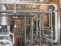 Rohranlage einer Brauerei